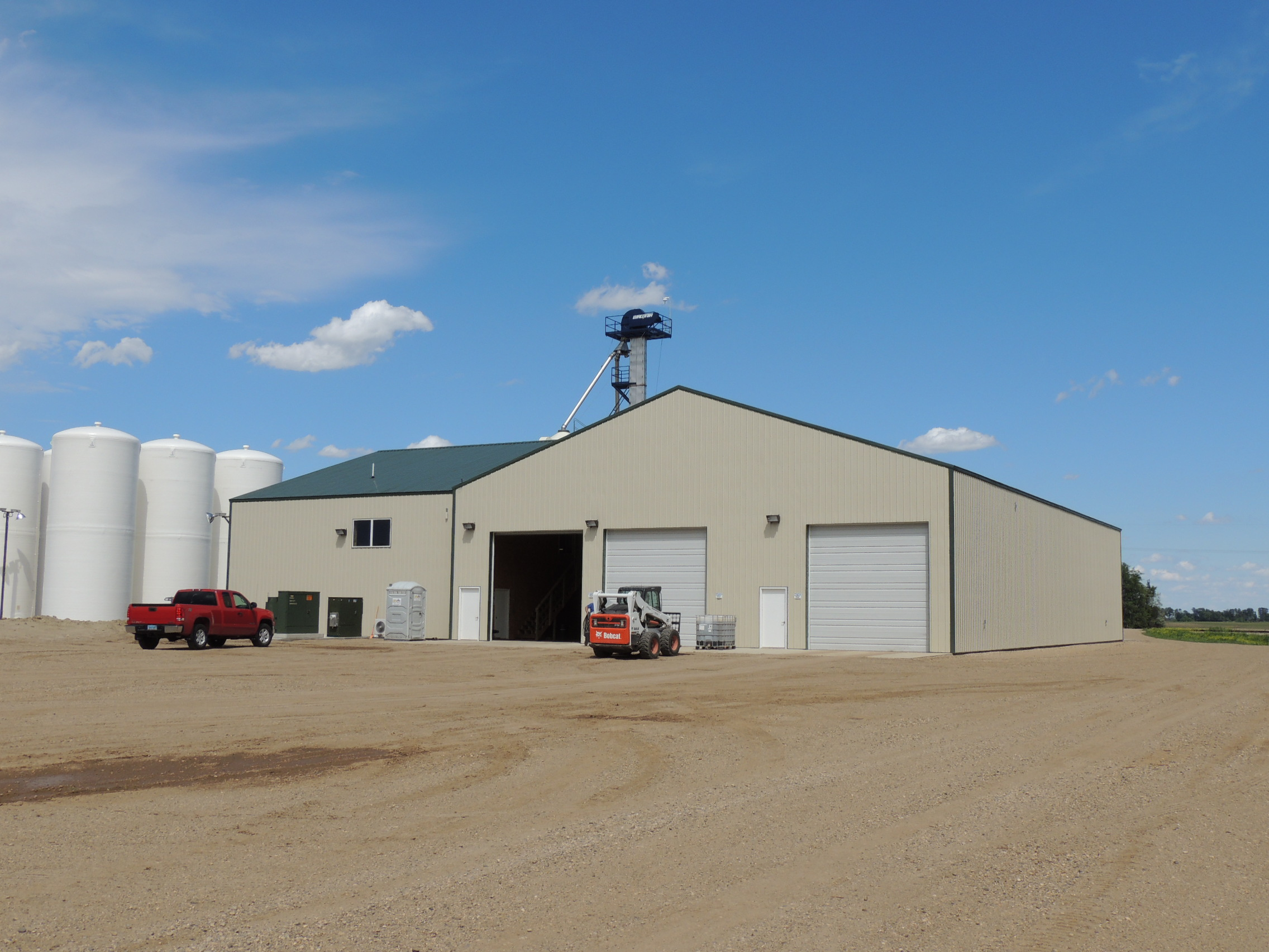 Fertilizer building project spotlight gavilon for Home design jamestown nd
