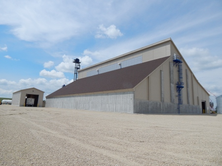 Dry Fertilizer Storage Building Construction Completed In