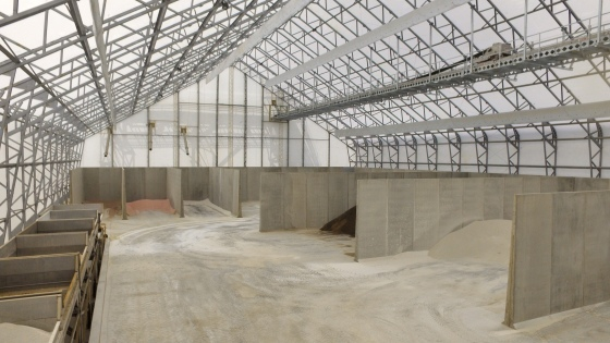 Dry Fertilizer Storage Facility, Dry Bulk Fertilizer Warehouse, Fertilizer Fabric Buildings, Fertilizer Fabric Structures,